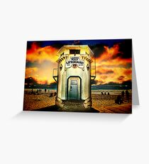 Laguna Beach Lifeguard HQ Greeting Card