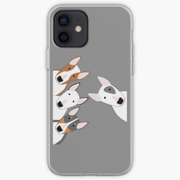 Escuadrón Bull Terrier Funda blanda para iPhone