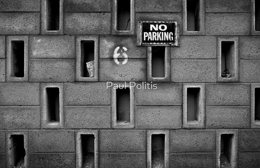 No Parking by Paul Politis