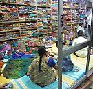 a new saree by shireengol