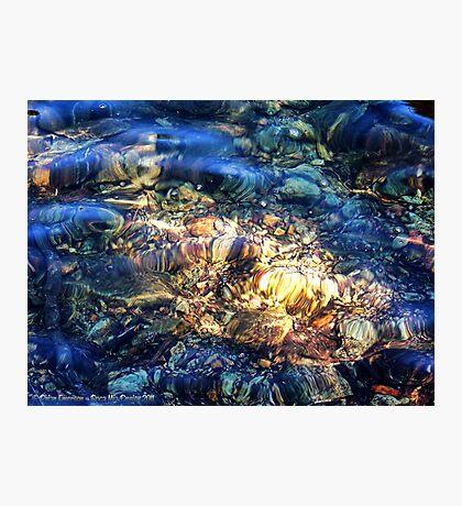 Penetrating the Depths (Hall Lake) Photographic Print