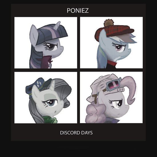 TShirtGifter presents: Poniez - Discord Days