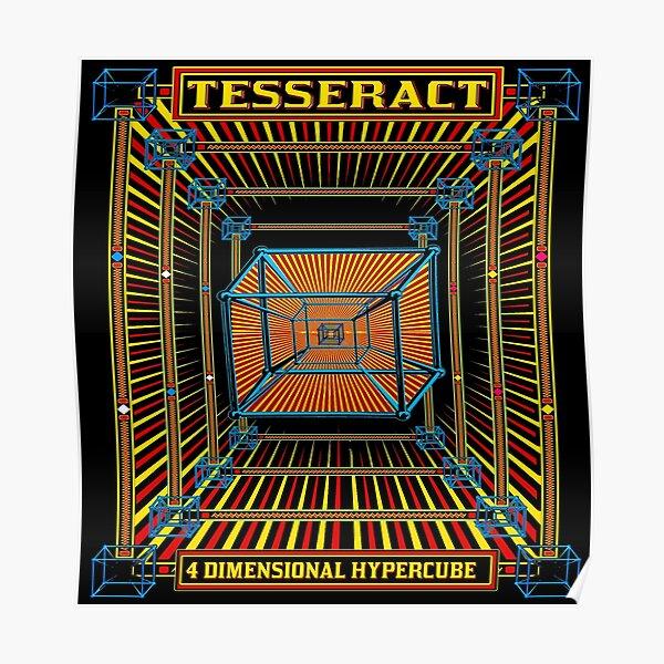 TESSERACT - 4D HYPERCUBE -1 Poster