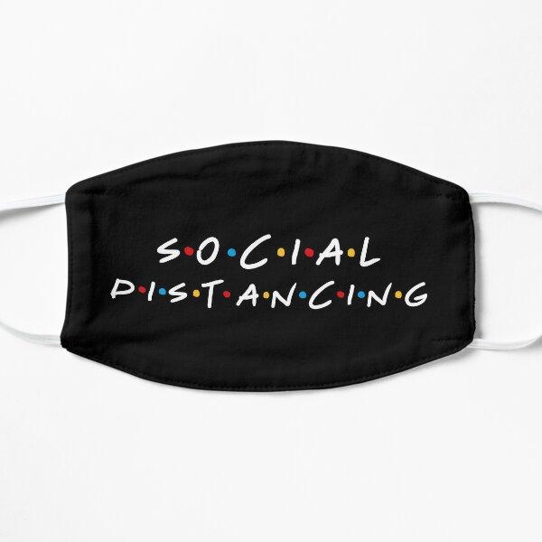Distanciation sociale Masque sans plis