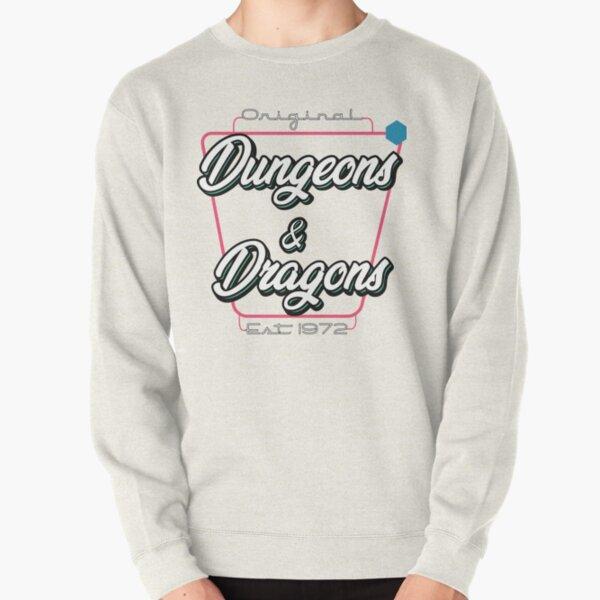 D&D Retro Drive-in  Pullover Sweatshirt