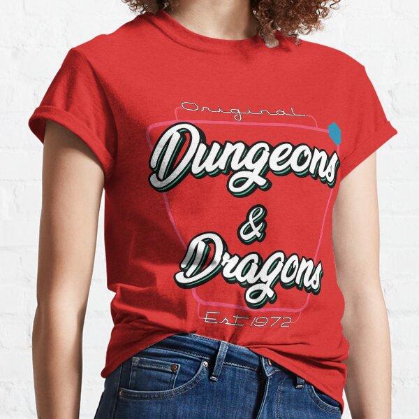 D&D Retro Drive-in  Classic T-Shirt