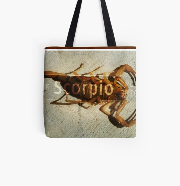 Scorpio Place All Over Print Tote Bag