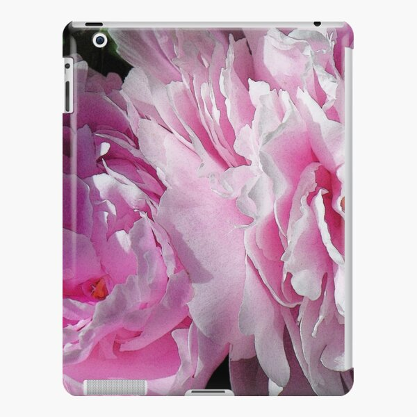Double pink peonies DPP iPad Snap Case