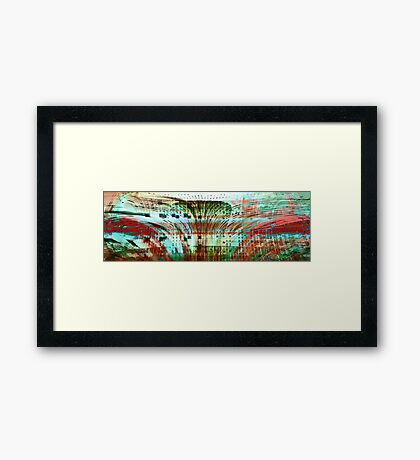 Simply Freedom Framed Print