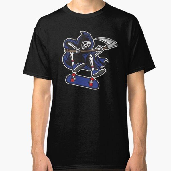 Skateboarding Grim Reaper Classic T-Shirt