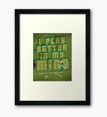 The true Framed Print