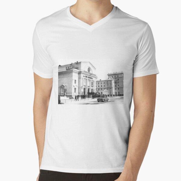 Norilsk Norillag Норильск Норильлаг V-Neck T-Shirt