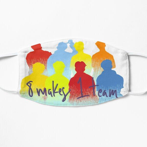 8 makes 1 team Mask