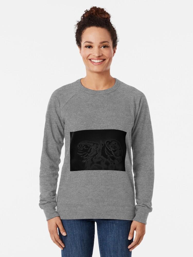 Alternative Ansicht von Ein Paar Rosen in Schwarz Leichter Pullover