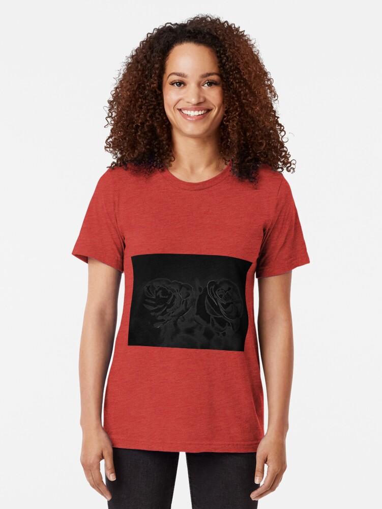 Alternative Ansicht von Ein Paar Rosen in Schwarz Vintage T-Shirt