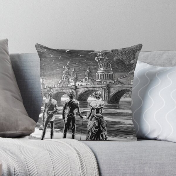 The Infernal Devices Throw Pillow