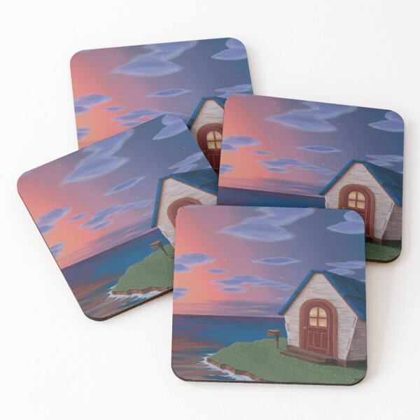 Island Life Coasters (Set of 4)
