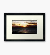 Bognor Sunset Framed Print