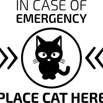 Notfall Katze von dynamitfrosch