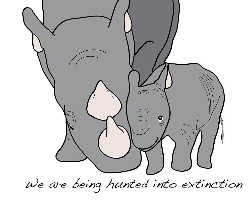 Rhino's by TatiDuarte