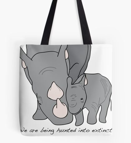 Rhino's Tote Bag