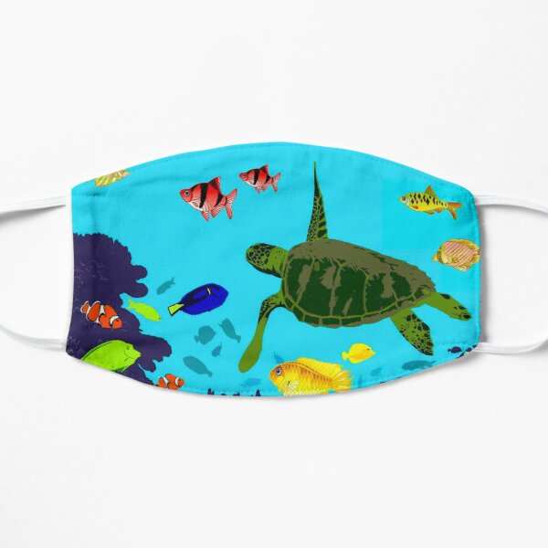 AUSTRALIA : Great Barrier Coral Reef Print Mask