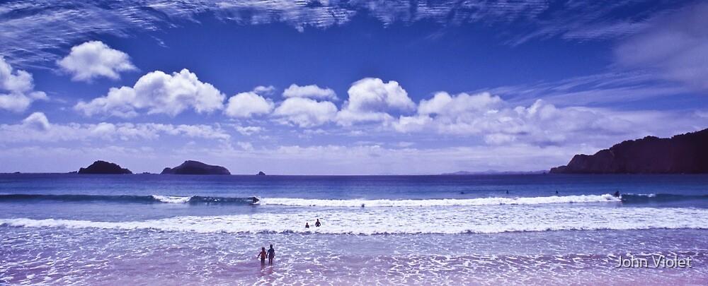 Adventure Playground Beach by John Violet
