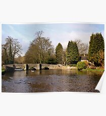 Sheepwash Packhorse Bridge Poster
