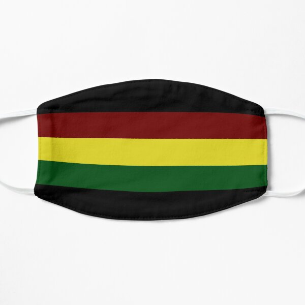Rasta Flagge / Rasta Streifen Maske