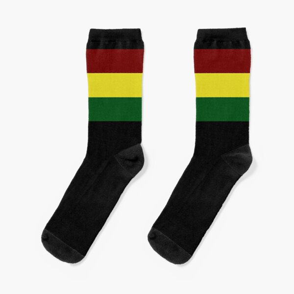 Rasta Flag / Rasta Stripe  Socks