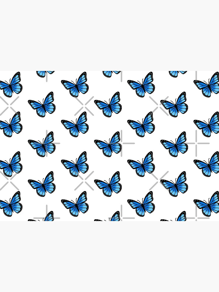 Blue Butterfly by littlemandyart