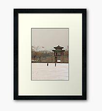 Photo taken Framed Print