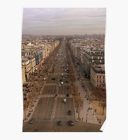 Champs-Élysées Poster