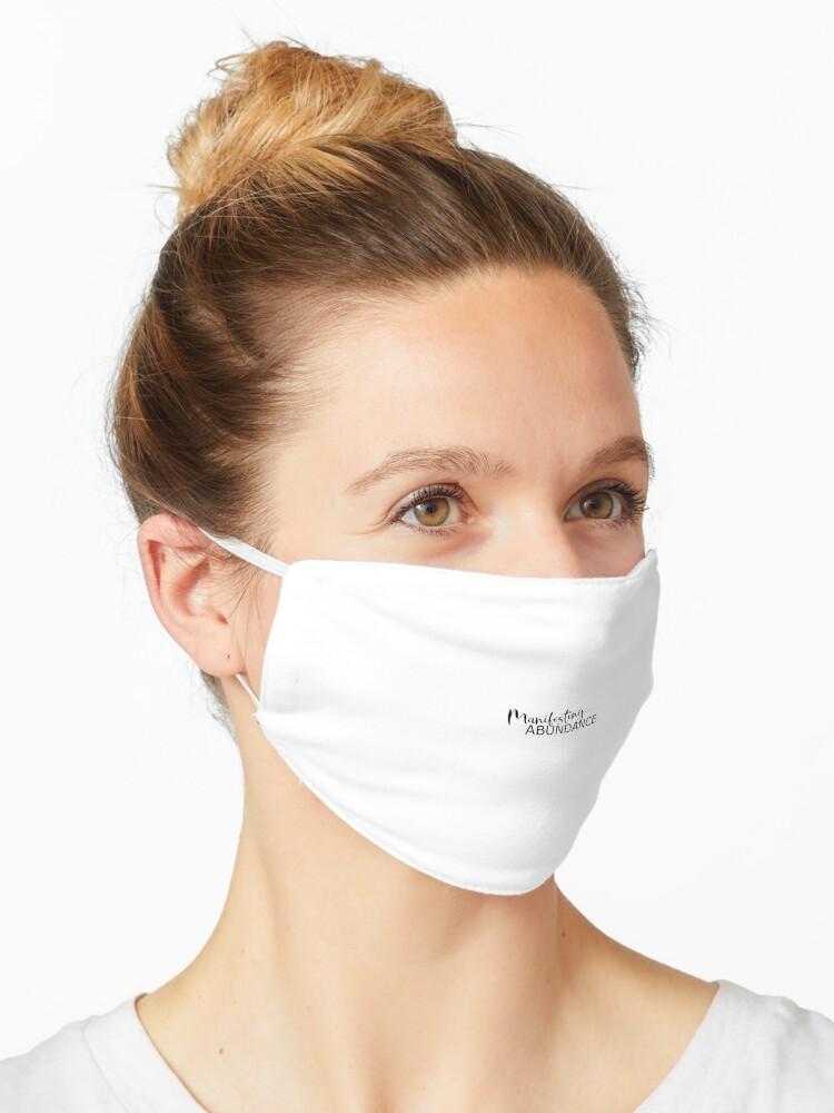 Fülle Manifestieren Gesetz Der Anziehung Maske Von Itslaurengarcia Redbubble