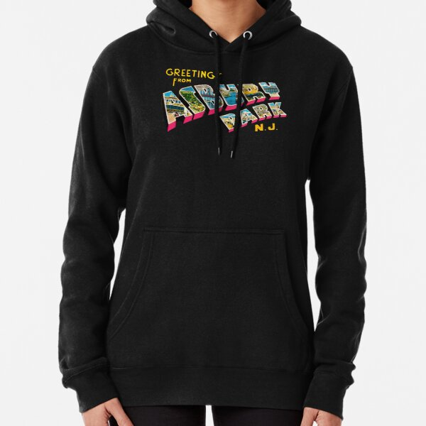 Greetings from Asbury Park, New Jersey 0a Pullover Hoodie