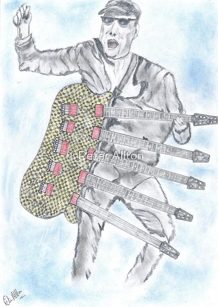Crazy Guitar Man by Peter Allton
