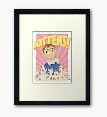 John Watson - Kittens Framed Print