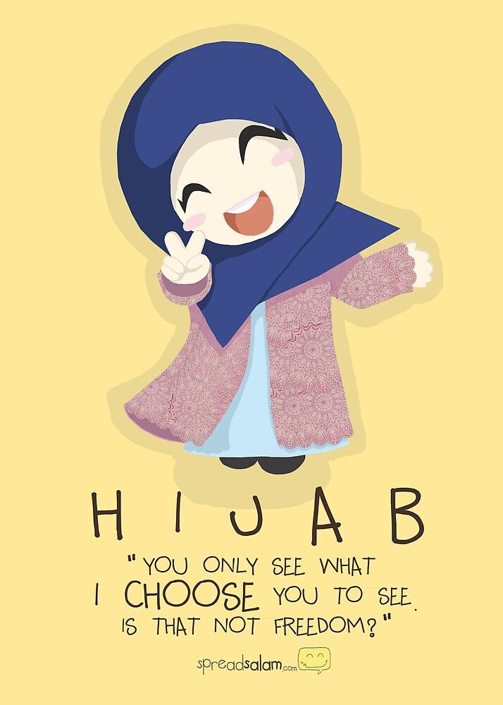 Hijab is Freedom by SpreadSaIam