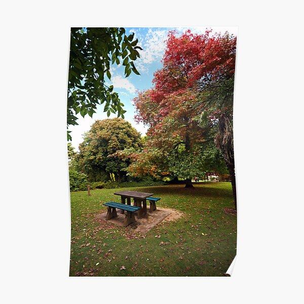 Wombat Hill, Daylesford Poster