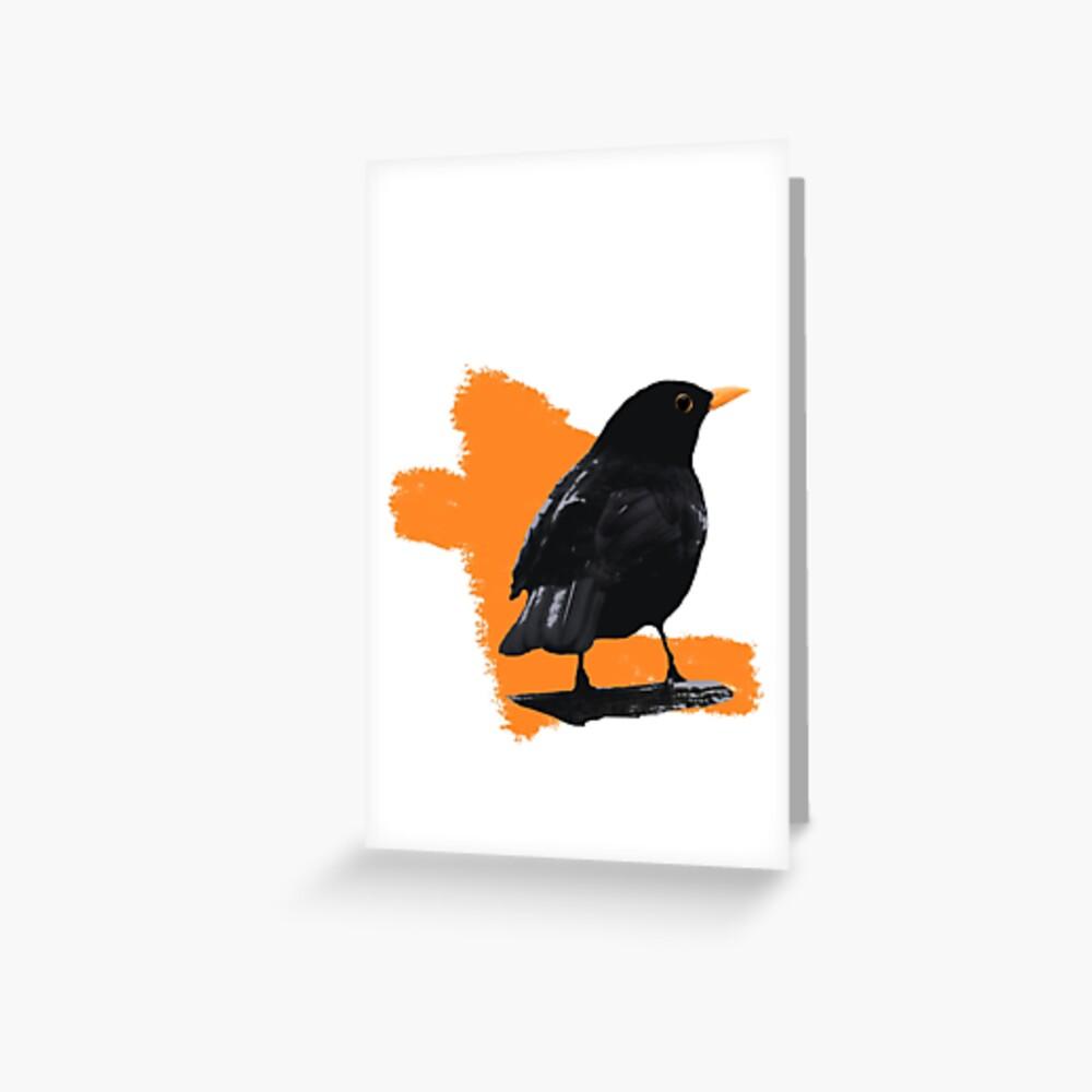 Blackbird fly Greeting Card