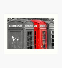 British telecom Art Print