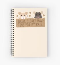 Today, I only have time for my RATS Spiral Notebook