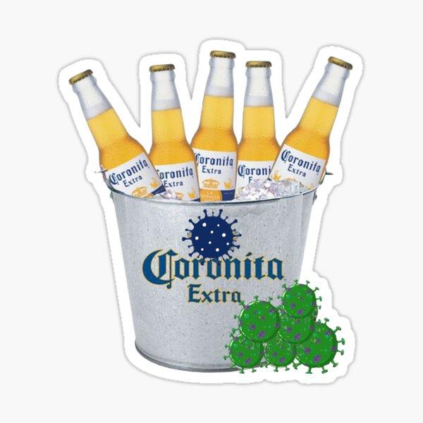 Coronavirus Beer Sticker