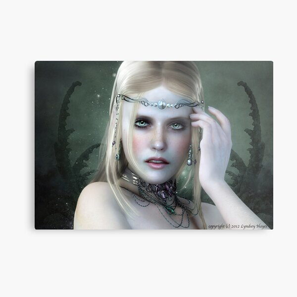 It's all in the mind Metal Print