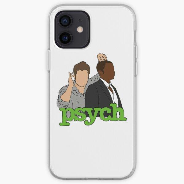 Psych - Shawn & Gus iPhone Soft Case