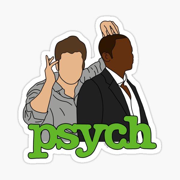Psych - Shawn & Gus Sticker
