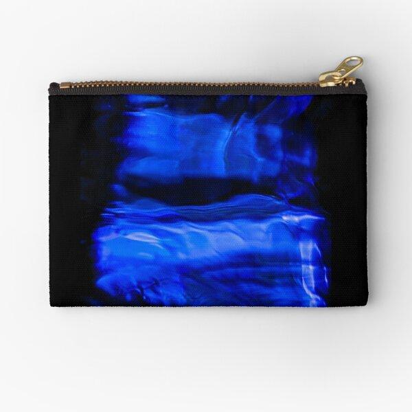 Blue Water Zipper Pouch