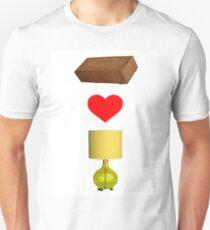 Brick Loves Lamp Unisex T-Shirt