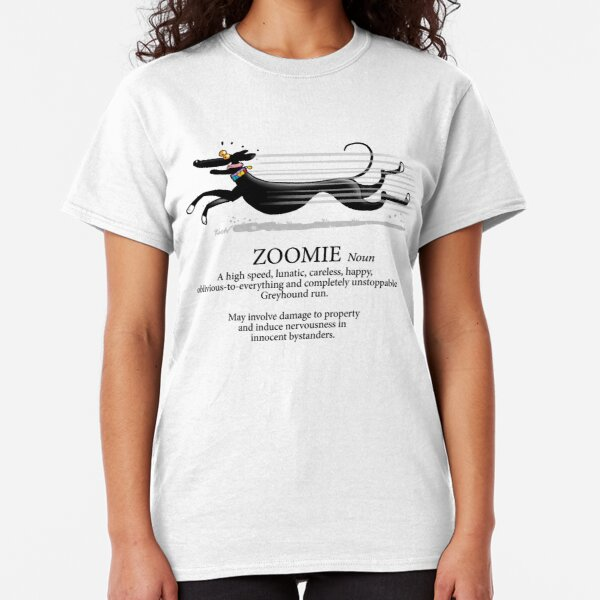 Greyhound Zoomie Classic T-Shirt