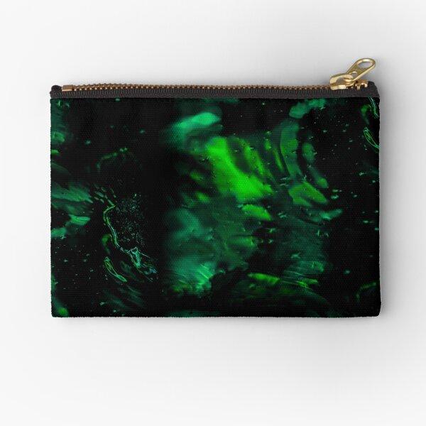 Emerald Water Zipper Pouch